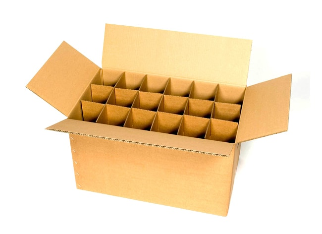 Partitoned Packaging Box